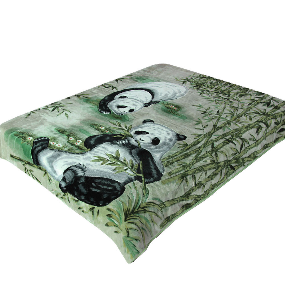 """Плед Смун """"Панда"""" зеленый..."""