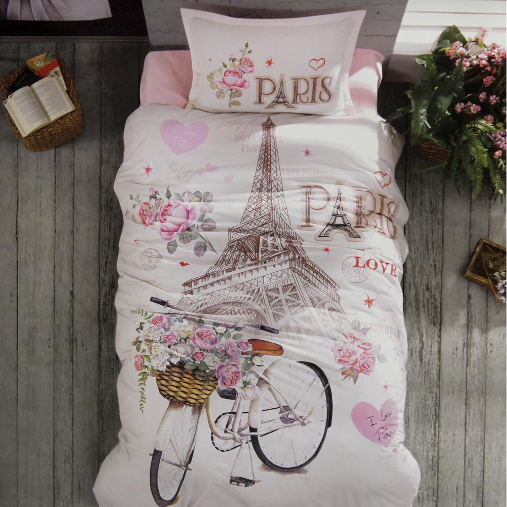"""КПБ """"Велосипед"""", розовый,..."""