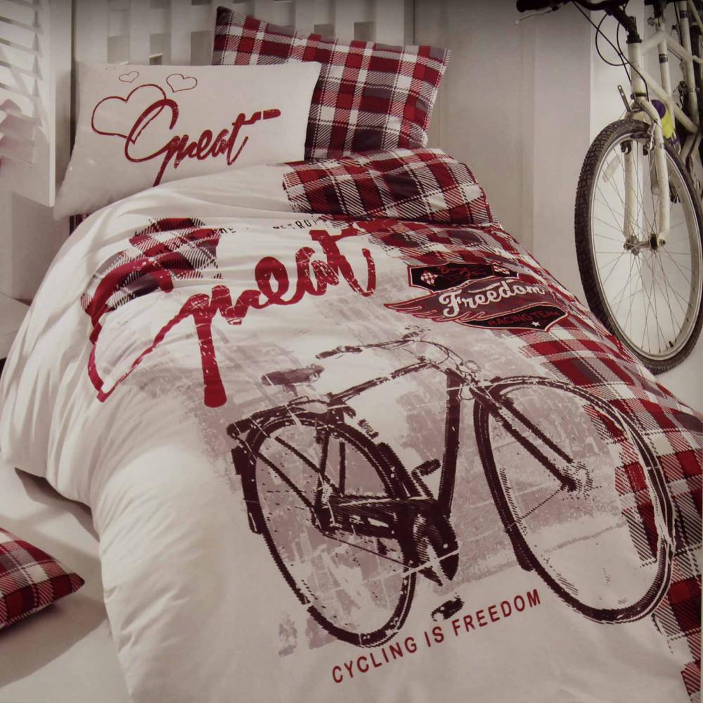 """КПБ """"Велосипед"""", красный,..."""