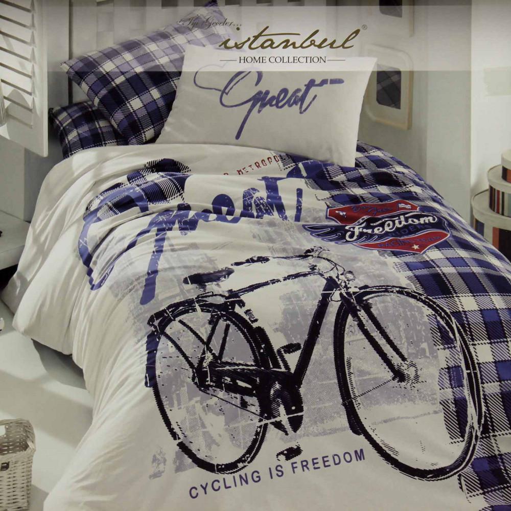 """КПБ """"Велосипед"""", синий,..."""